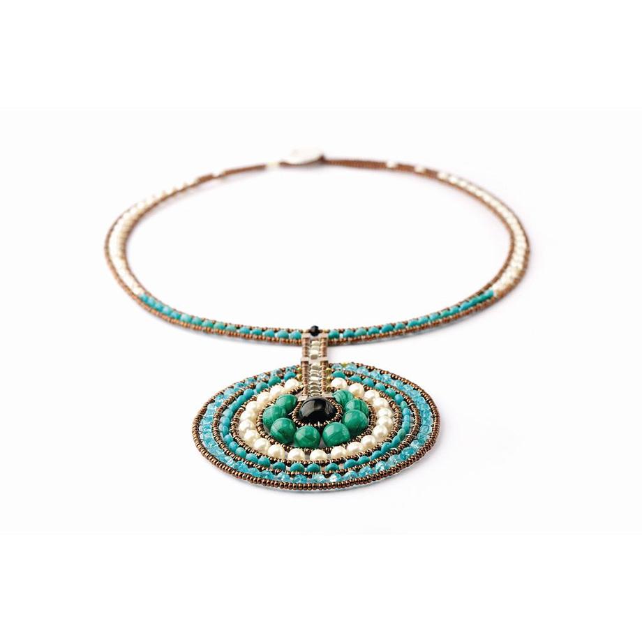 Handmade Necklace Venus Blu