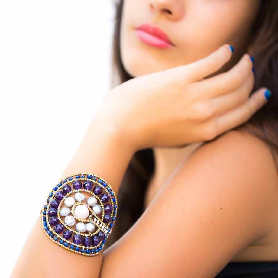 Bracelet Venus Amethyst