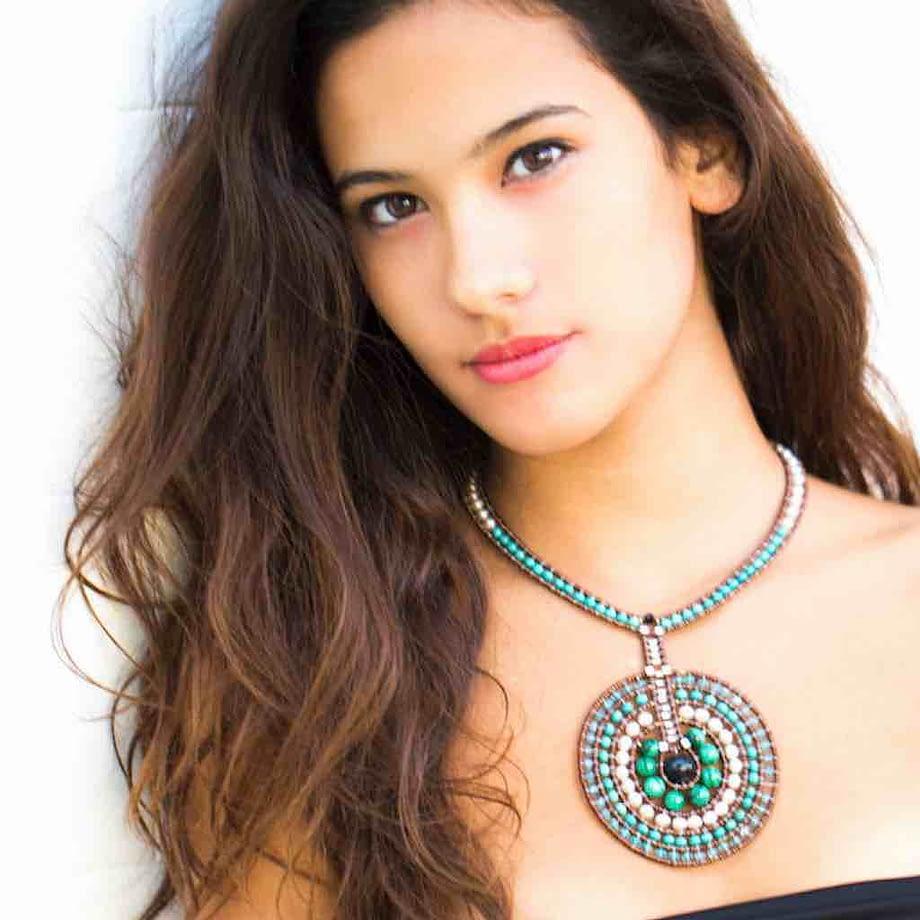 Necklace Venus Blu