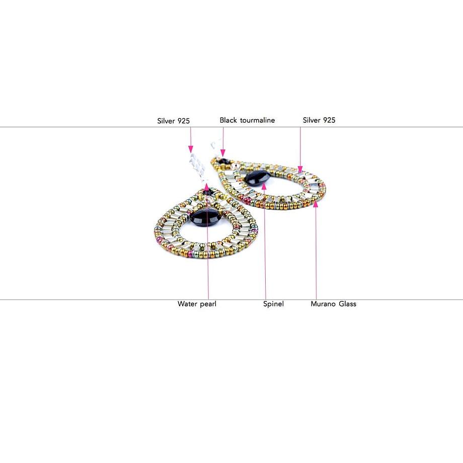 ziio-jewels-LEGENDE-EARRING-GOUTTE-BLACK-SILVER