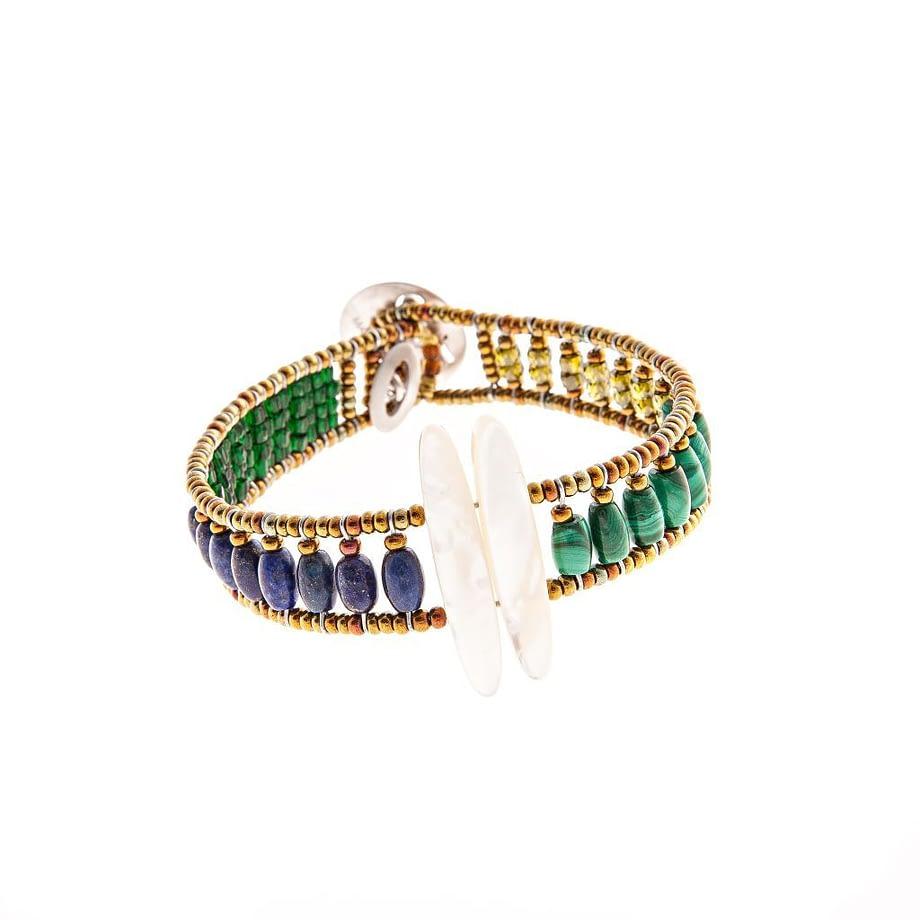 Handmade-Bracelet-SIL-TETHIS-BLUE-ziio