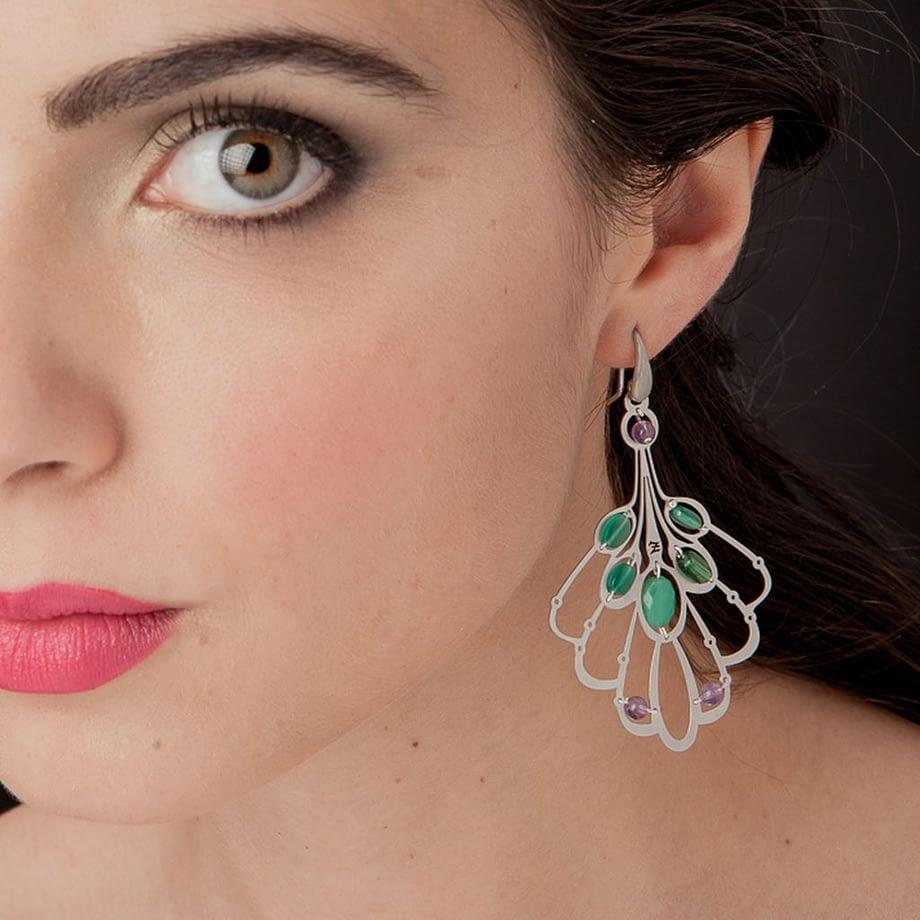 handmade-earring-lys-large-green-ziio-jewels