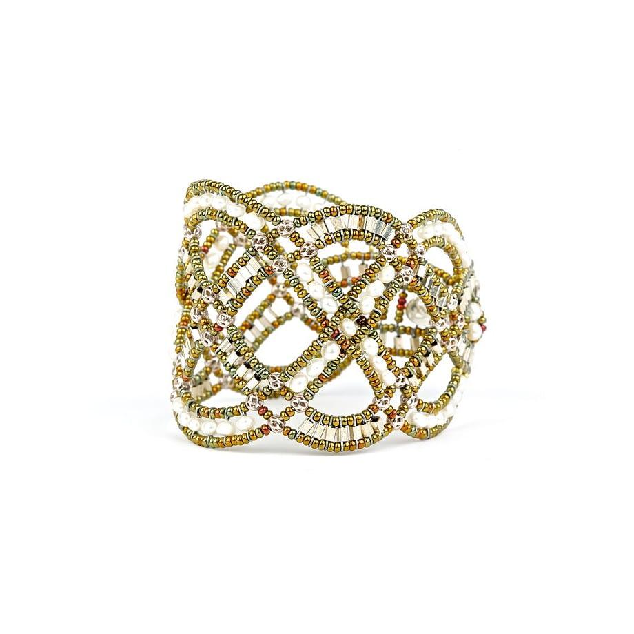 Handmade Bracelet MOUVANCE Pearl-SIDEWH-ZIIO-JEWELS