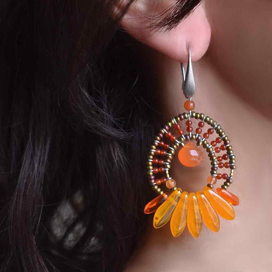 Earrings Mistinguett