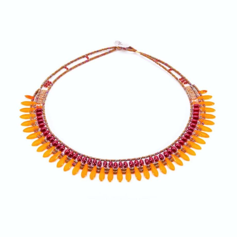 necklace mistinguett Orange