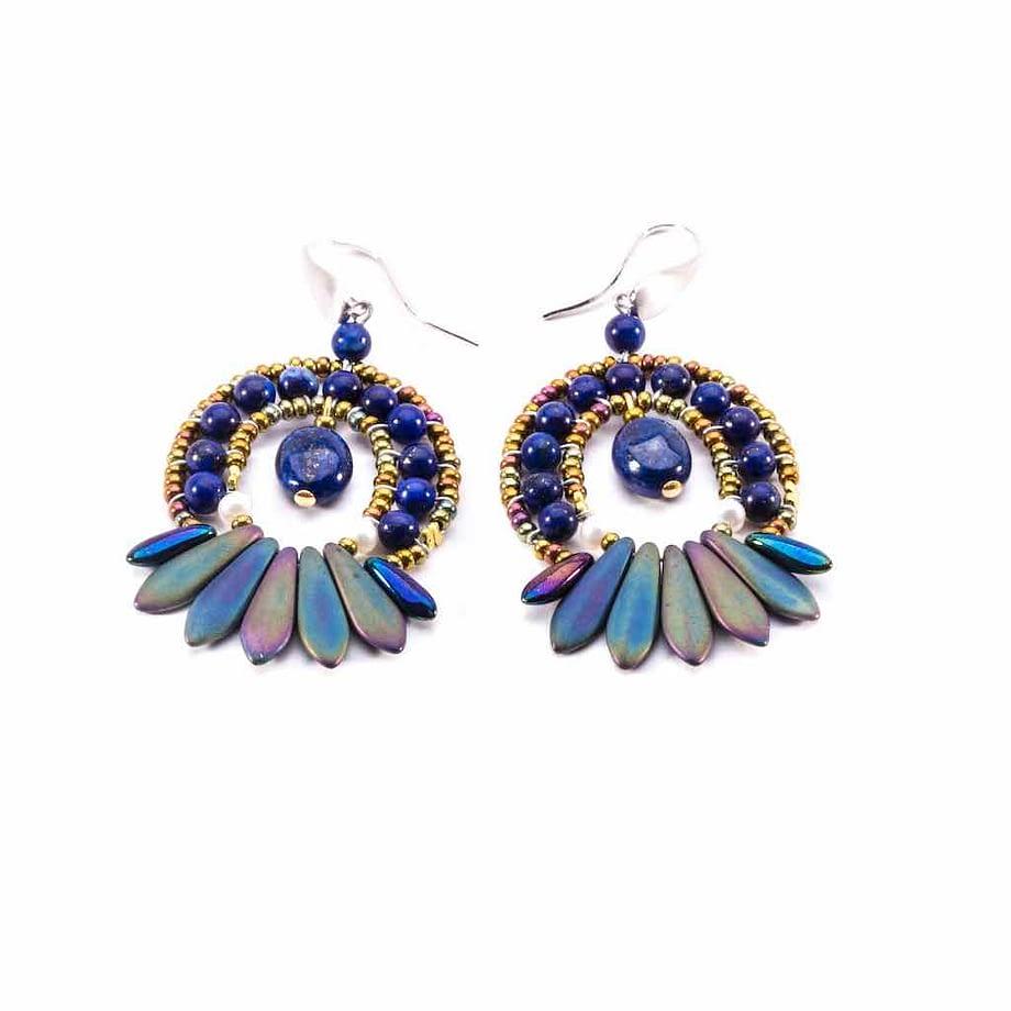 Earrings MISTINGUETT Lapiz