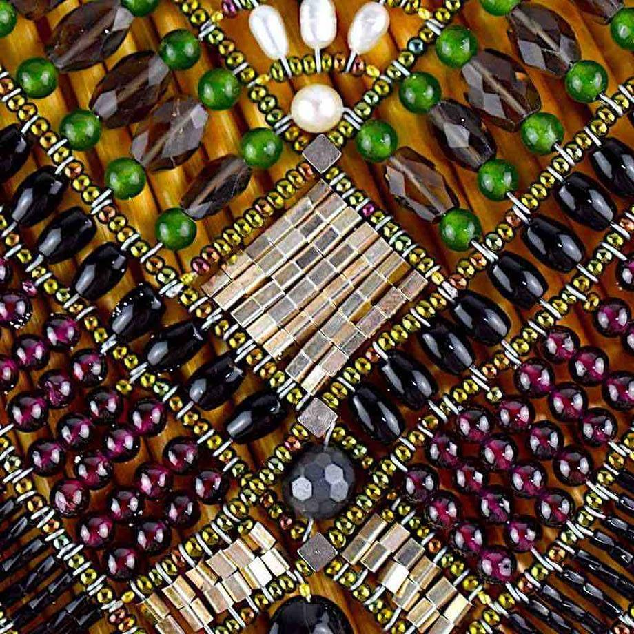 Necklace Falena - Detail Stones - Ziio Jewels