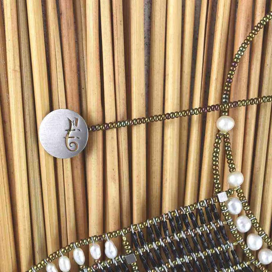 Necklace Falena - Detail - Ziio Jewels