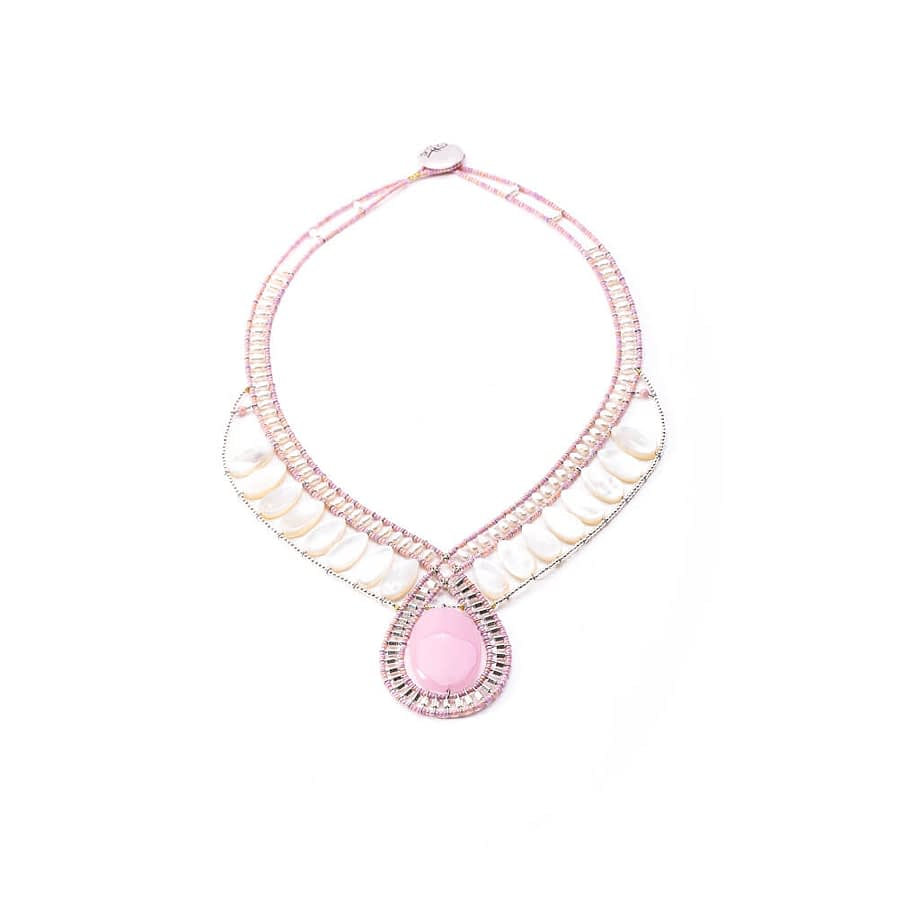 Necklace-Rose-Shell-ziio-jewels