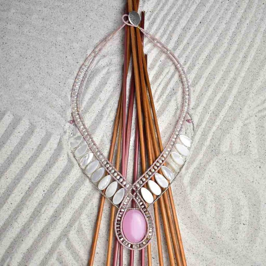 Necklace Rose Ziio Jewels